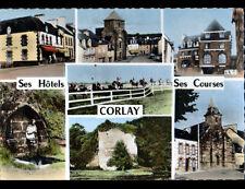 CORLAY (22) HOTEL du JOCKEY BRETON , FONTAINE , EGLISE & CHAMPS de COURSES