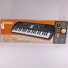 Casio SA-76 Mini-Keyboard- with 5pc drum pad buttons Excellent Condition In Box