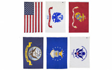 Wholesale Lot of 2x3 ft 5 Branches Military Set and Usa Flags 2'x3' Banner