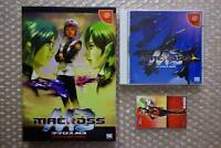 "Macross M3 Limited Edition ""Very Good Condition"" Sega Dreamcast Japan"