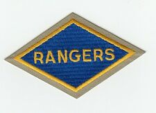 """Patch US """"RANGERS"""" D-Day WWII REPRO"""