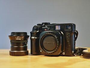 Mamiya 7 II Rangefinder Medium Format Rangefinder Camera with 80mm F4 L Lens