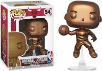 Michael Jordan Bronze NBA Chicago Bulls POP! Basketball #54 Vinyl Figur Funko