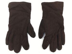 ROECKL | Damen Handschuhe aus Leder & Kaschmir | Gr. 7.5 | Farbe Braun