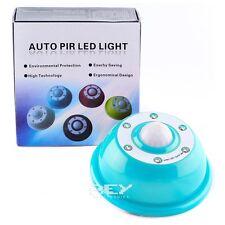 """Sensor Movimiento PIR color AZUL con 6 LEDS """"Envíos desde España"""" d133"""