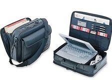 """Authentic Black DELL Targus 16"""" Deluxe Large Laptop Case Expandable Bag 8-1"""