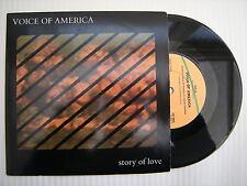 Voice of America - Story of Love / V. O.A VIRGIN vs-984 EX 17.8cm Unique