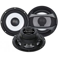 CRUNCH GTI-6.2W WOOFER SET Woofer-Paar 16,5 cm Leistung 100/200 Watt GTI6.2W