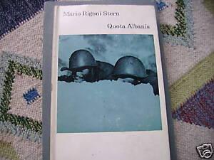 RIGONI STERN, QUOTA ALBANIA, einaudi 1971 - I edizione