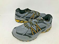 NEW! Avia Men's Trace Trail Lace Up Shoes Grey/Blk Size:8 #a5027 f7d a