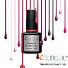 QUTIQUE Gel Nail Polish Colour Pack/Kit/Set -Choose ANY Colour,Cleanser,Acetone