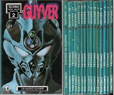 GUYVER LOTTO 15 NUMERI SEQUENZA 2/27 STAR COMICS TECHNO