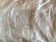 West Elm organic cotton star matelasse FULL QUEEN duvet stone white gray