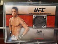 2011 Topps UFC Title Shot Fighter Relics Black #40/88 Sam Stout #FR-SS