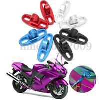 Universal Motorcycle CNC Aluminum Rearview Mirror Fairing Adapter Holder Mount