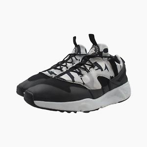 Nike Air Huarache Utility Mens Camo Trainers UK 11 Black Sneakers 806807 001