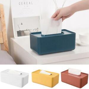 1x Plastic Tissue Box Wet Tissue Holder Storage Box Paper Towels Home Organizers