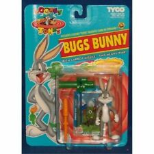 TYCO Looney Tunes Bugs Bunny With Carrot Missile Action Figure Vintage 1993