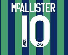 No 10 McAllister Leeds United tercera 1994-1996 fútbol local para camisa