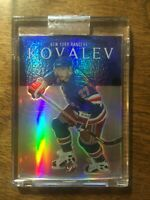 2003-04 Topps Pristine Refractors - ALEX KOVALEV #89 New York Rangers 6/59 RARE