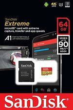 SANDISK Extreme Micro SDXC UHS-1 Memory Card, 64GB