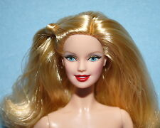 FABULOUS Side Pony Tail Golden Blonde Blue Eyed NUDE Model Muse BARBIE for OOAK