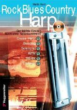 Martin Rost : Rock Blues Country Harp. Mit CD : 9783802402128