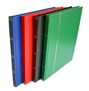 A4 Stock Book Stamp Album With 16 Black pages - HALF PRICE SALE £6.95 or less