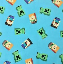 Minecraft Fabric FQ Fat quarter 18