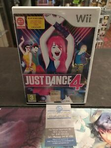 Wii Just Dance 4 Come Nuovo