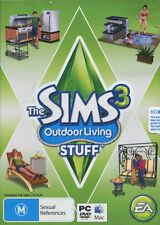 The Sims 3: Outdoor Living Stuff - PC MAC - expansion pack - fast free post