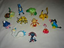 Lot of 11 Nintendo Pokemon Action Figures (2007, Jakks Pacific PVC) inc. Lucario