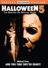 Halloween 5 The Revenge of Michael Myers Horror 1989 DVD Near Slashers R1