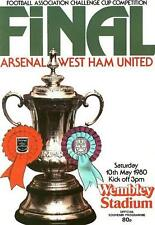 * 1980 FA CUP FINAL - ARSENAL v WEST HAM *