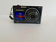 Samsung Smart Camera DV300F 16.0MP Digital Camera Black Tested Working condition