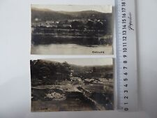 More details for 2 x corwen dee valley denbighshire north wales real-photo postcards c.1915 ab602