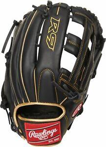 """Rawlings R9 12.75"""" Outfield Baseball Glove: R93029-6BG"""