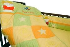 New 100% Cotton Baby Bedding Crib Boy Girl Unisex Cute 3 piece pc Set Bear