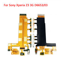 Volume Power Button Camera Key Main Flex Cable For Sony Xperia Z3 D6603 D6653