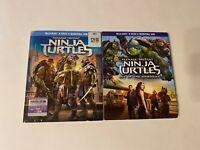 Teenage Mutant Ninja Turtles 1 & 2 w/ Slipcover (Bluray) [BUY 2 GET 1]