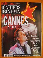 Cahiers du Cinéma N° 623 du 05/2007-Cannes 2007-Tarantino-Sokourov-Wong Karwai