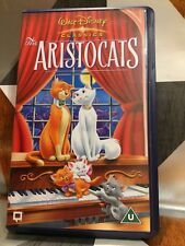 Walt Disney Classics ]The Aristocats VHS Video Tape Childrens Gift TBLO