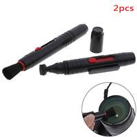 2 stücke Kameraobjektiv Reinigungsstift Tragbare Staubreiniger Pinsel Objek ZD