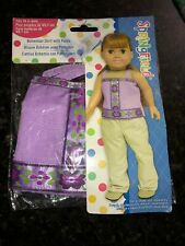 Bohemian Shirt with Pants Outfit fits American Girl (Springfield Collection NEW