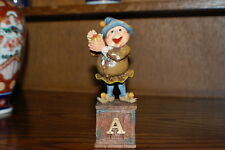Efteling Holland Gnome Letter A Apple Statue The Laaf Collection 1998 Ltd Ed