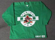 Used Green Phoenix Coyotes CCM Center Ice Practice Hockey Jersey MeiGray 56