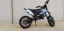 Mini Moto Cross Nuova AF moto MXT EVO PRO 10/10 50 cc Bianco blu