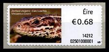 Waldeidechse. Automatenmarke. 1W. Irland 2014