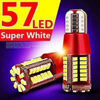 T10 Bulbs LED Canbus 57SMD 5630 5W5 DC12V CE RoHS Car Bulbs