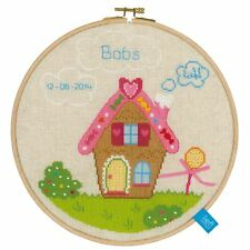 Vervaco 0150391 Home Of Gingerbread Men II Embroidery Counted